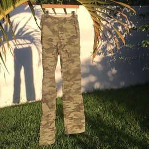 Camouflage Print Camo Pants for Boys